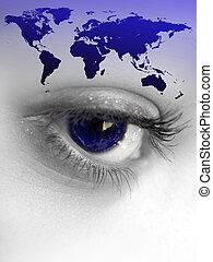 mondiale, oeil