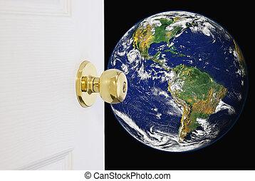 mondiale, porte, nouveau