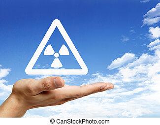mondiale, protéger, radioactif