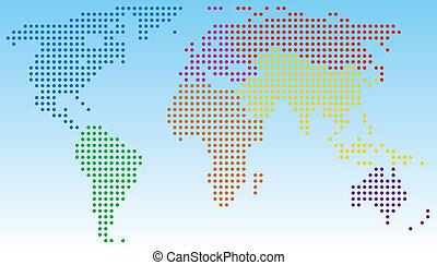 mondiale, résumé, carte