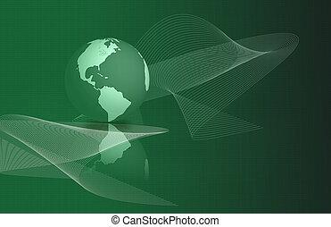 mondiale, résumé, technologie, fond