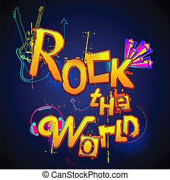 mondiale, rocher