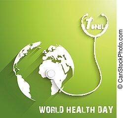 mondiale, santé, jour