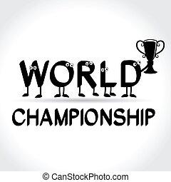 mondiale, symbole, championnat