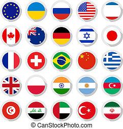 mondo, bandiere