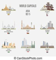 mondo, capitali