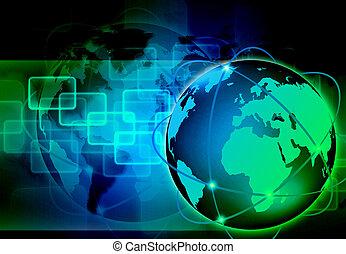 mondo, Estratto, tecnologia