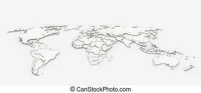 mondo, mappa sollievo
