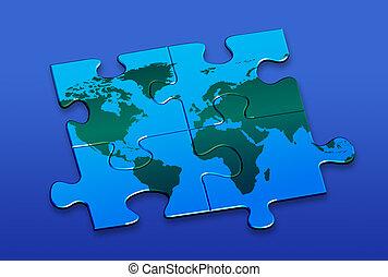 mondo, puzzle