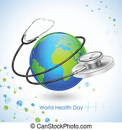 mondo, salute, giorno