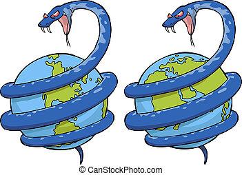 mondo, serpente
