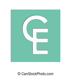 moneda, ecu, símbolo, icono