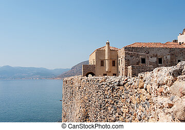 Monemvasia at the Greek Peloponnese