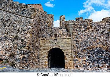 Monemvasia entrance in Peloponnese, Greece - Monemvasia ...