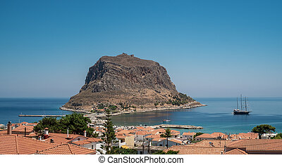 Monemvasia, Laconia, Peloponnese, Greece.