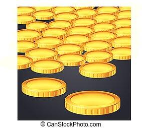 moneta, oro, lotto