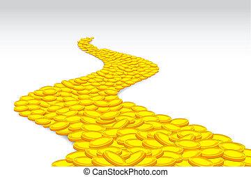 moneta, strada
