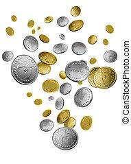 monete cadenti