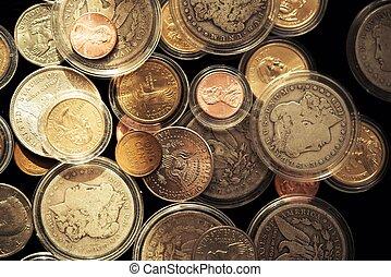 monete, prezioso, esigibile
