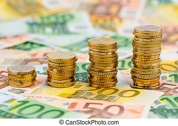 monety, powstanie, krzywa, stóg