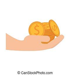 monety, siła robocza