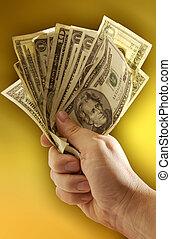 Money - A fist full of Dollars