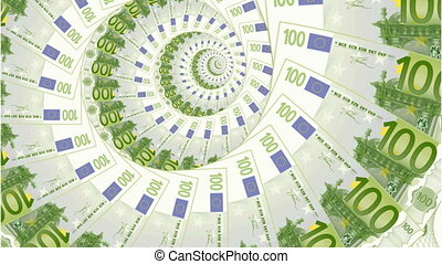 money abstract - euro 2