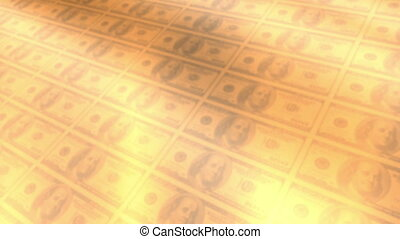 Money abstract looping background - Gambling animated...