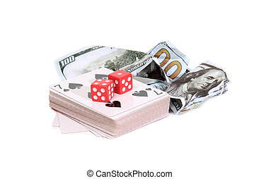 Money and cards four