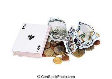 Money and cards one