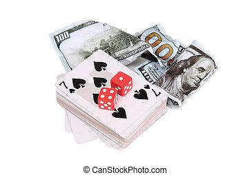 Money and cards three