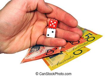 Money and dice
