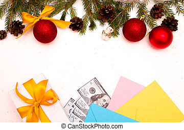 money as a gift for Christmas New Year