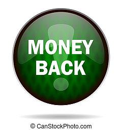 money back green internet icon