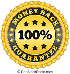 Money Back Guarantee Golden Label