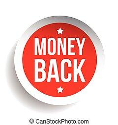 Money Back Guarantee label
