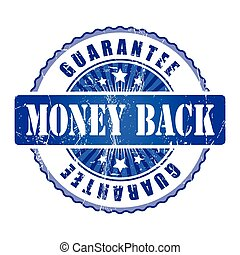 Money Back   Guarantee Stamp.