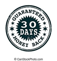 money back guaranteed stamp