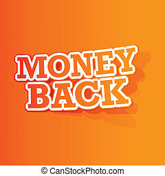 Money Back Sticker