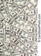 Money Background - Background from 100-dollar denominations
