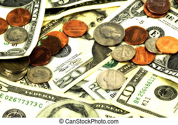 Money Background - Money With Blur Effect.