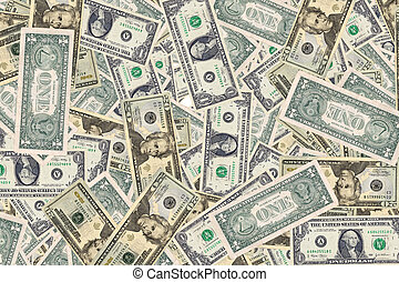 Money Background - Photo of US Currency