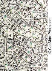 Money Background - Background from 100-dollar denominations