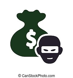 money bag thief design