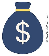 Money bag with dollar sign