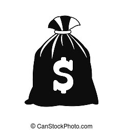 Money bag with US dollar sign