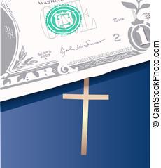 money bible - money on bible