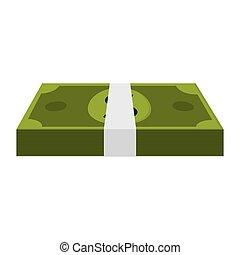 money bill rich wad of cash
