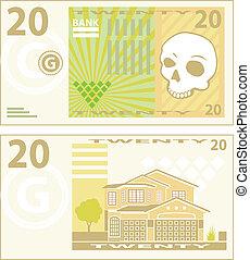Money Bill Vector