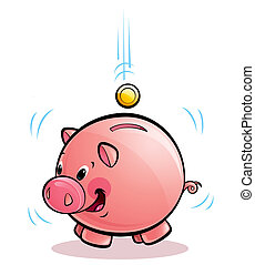 money-box, cerdo